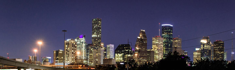 Houston downtown view