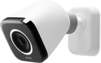 Close up photo of vivint outdoor camera pro