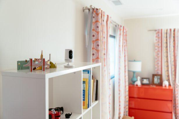 Vivint ping camera in kids room