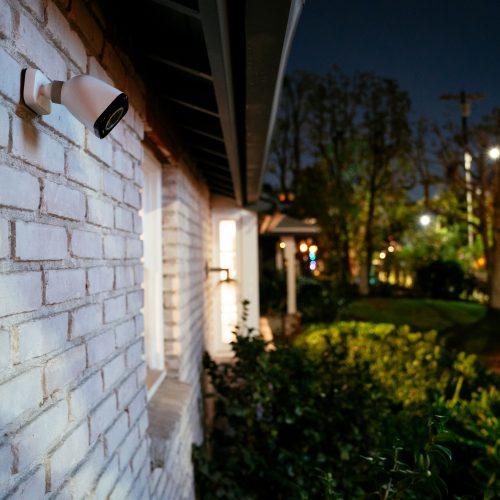 Vivint Outdoor camera pro working in the dark