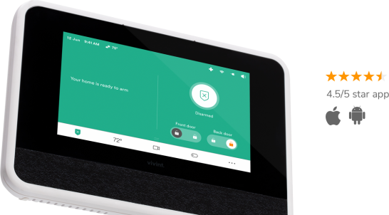 vivint smart hub and app score