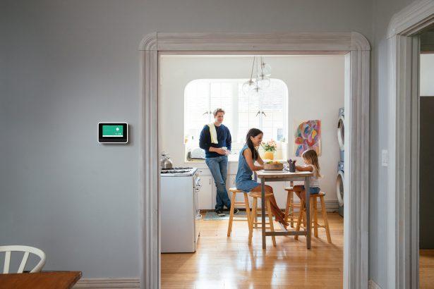 Family and Vivint smart hub