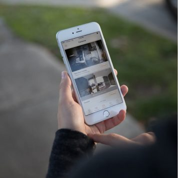vivint security cameras feeding to vivint mobile app