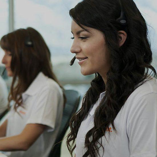 Vivint Smart Home customer services staff