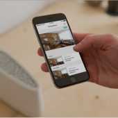 Vivint smart home app screen
