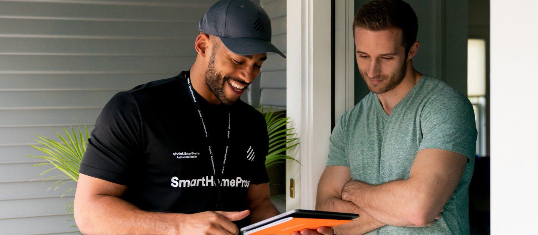 vivint smart home pro installing vivint system