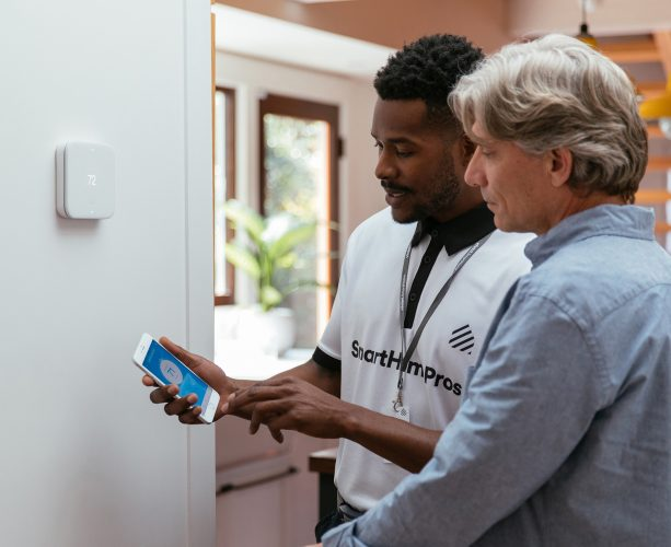 professional installation of vivint smart home systems